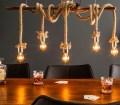 Fetz Extraordinar Hangande Lampa Bambu Och Abacia Rep
