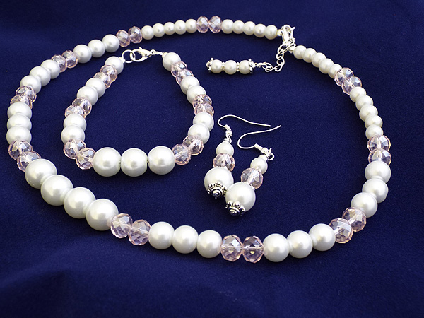 Coloured Pearls, Wedding Jewellery