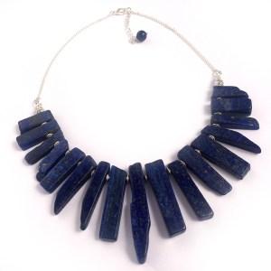 Lapis Lazuli Statement Necklace, Statement Jewellery