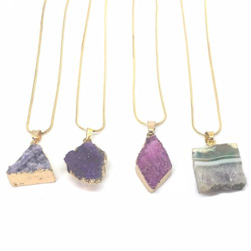 Healing Crystal Necklaces