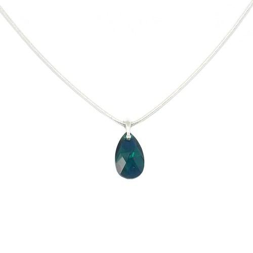 Emerald Green Swarovski Pendant