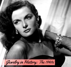 Jewelry / Jewellery in 1940s