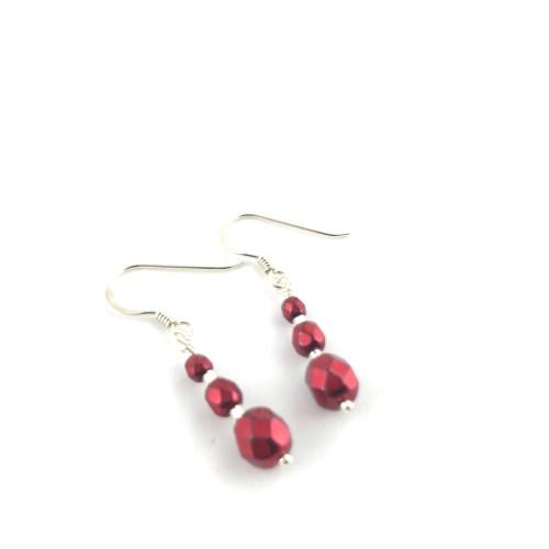 Sterling silver and crystal earrings online uk