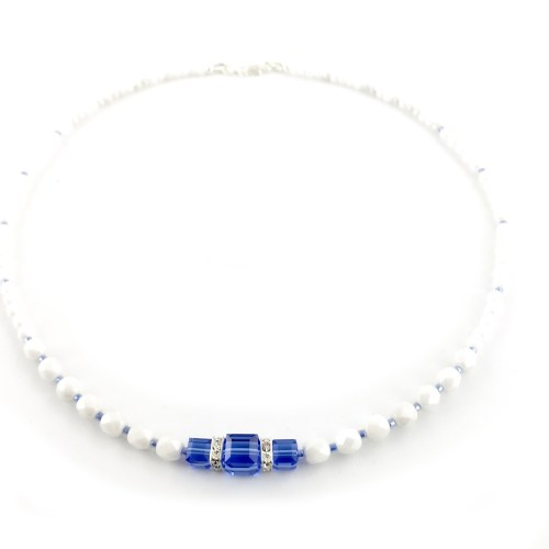 Swarovski crystal cube necklace online gifts for her uk