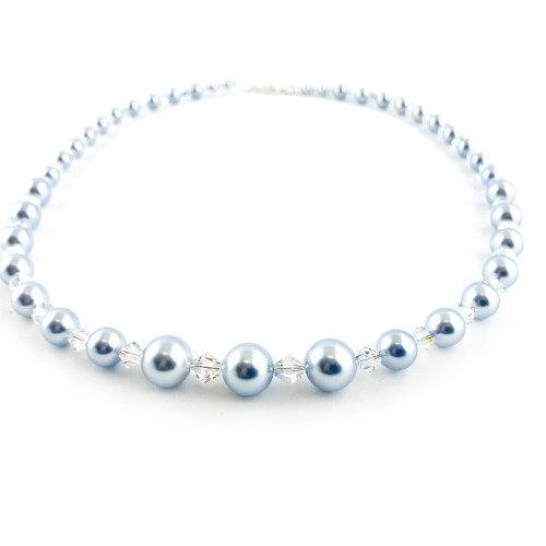 Shell pearl necklace online uk
