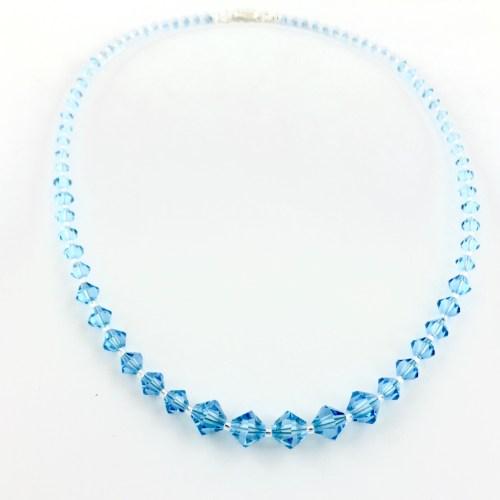 Luxiere jewellery swarovski necklace online uk