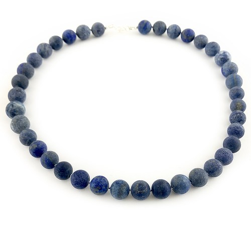 Lapis Lazuli gemstone necklace online uk