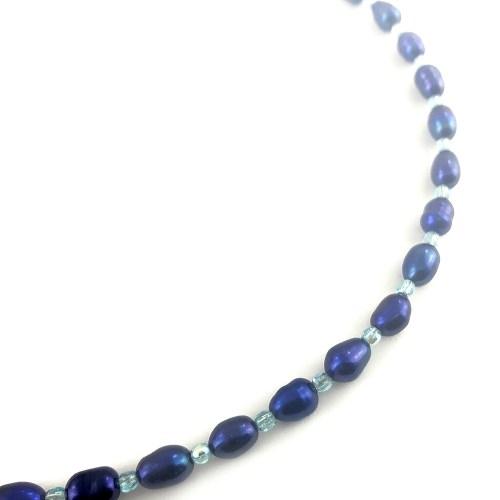 Natural pearl necklace online uk