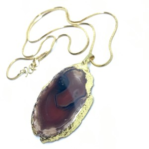 Agate necklace online uk