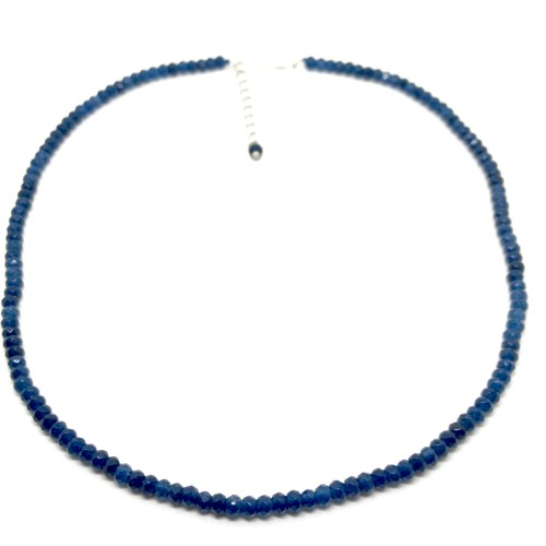 genuine sapphire necklace online uk
