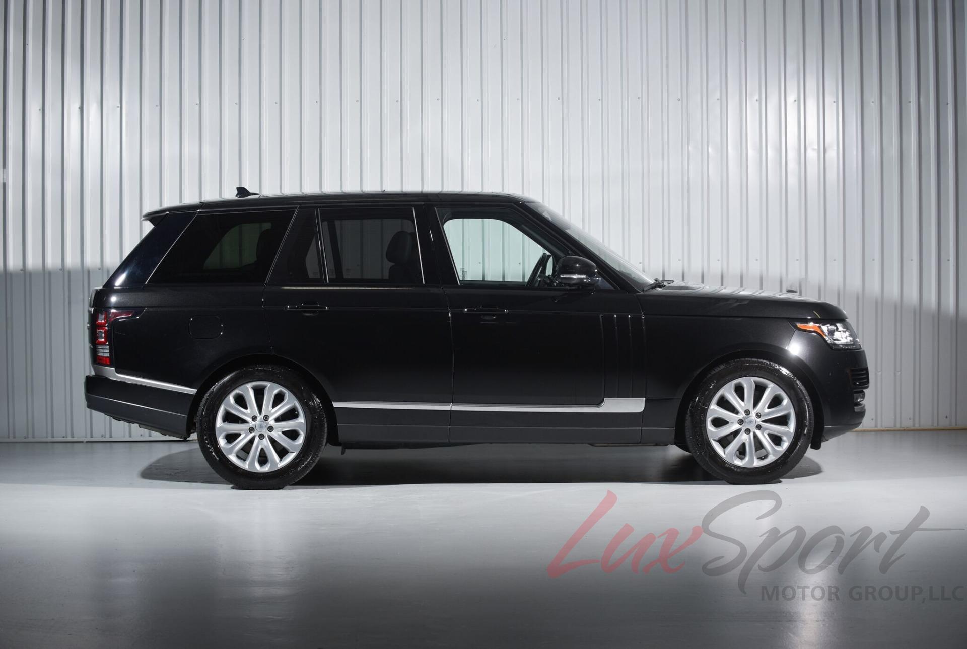 2016 Land Rover Range Rover Hse Santorini Black black Loaded $98k