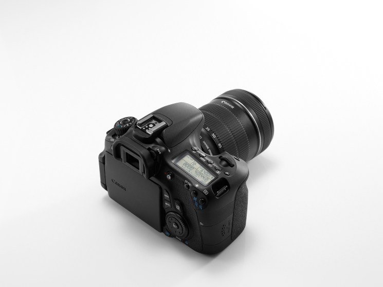 EOS 60D REVERSE TOP ANGLE w LCD CLOSED
