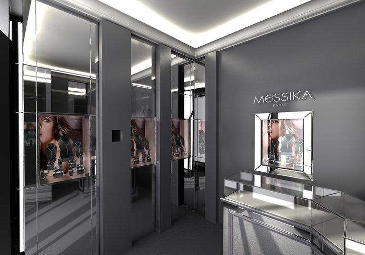 une boutique ph m re pour la maison messika luxsure. Black Bedroom Furniture Sets. Home Design Ideas