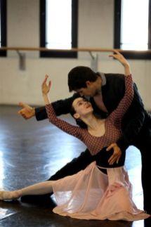 Manon Olesia Novikova e Roberto Bolle in prova - ph Brescia-Amisano Teatro alla Scala IMG_0219
