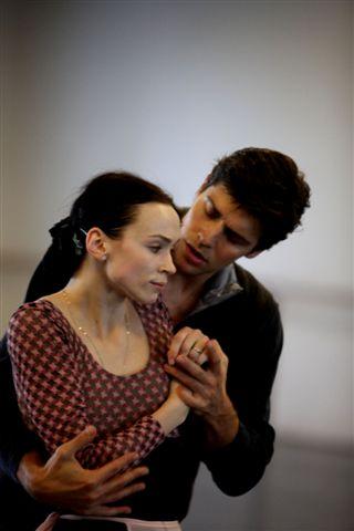 Manon Olesia Novikova e Roberto Bolle in prova - ph Brescia-Amisano Teatro alla Scala IMG_0237