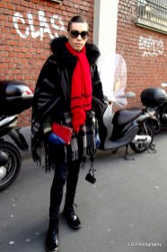 In Burberry's Styles outside ZZEGNA
