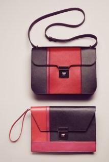 Annabel Shoulder Bag / Midnight Annabel Clutch / Midnight
