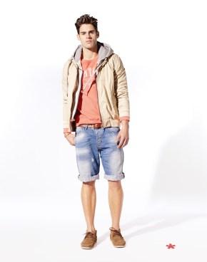 NUJOHN: blouson capuche coton 59,99¤ NEGOOD: sweater coton 35,99¤ NOZEP: bermuda jean used 39,99¤ NIGAUCHO: ceinture cuir rebrodé 39,99¤ NYINDIEN: bateau suède 59.99¤