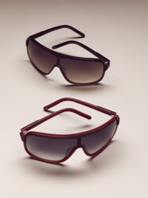 Men's Sunglasses / Brown-Olive / Red-Navy