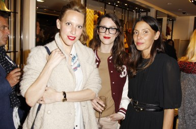 Guest at the Burberry Eyewear event in Paris0001