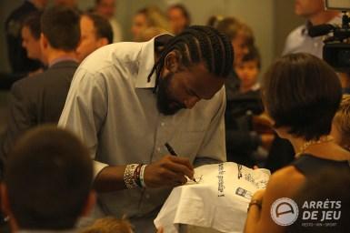 Ronny Turiaf autographe