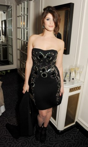 gemma arterton at the 58th london evening standard theatre awards in association with burberry