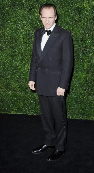 ralph fiennes at the 58th london evening standard theatre awards in association with burberry