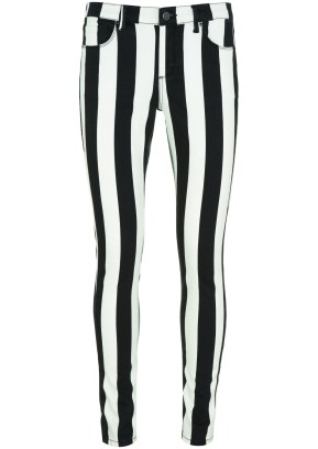 black_white stripped trousers