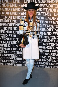 Anna Dello Russo @ FENDI FW 13-14 Fashion Show