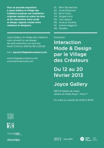 InvitationVernissageVDCJOYCE2013