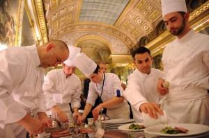 'Diner des Grands Chefs' At Chateau de Versailles