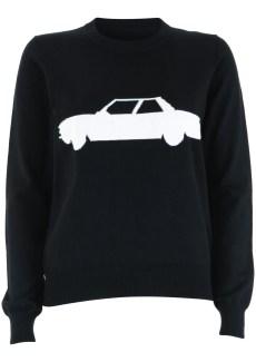 black car jumper