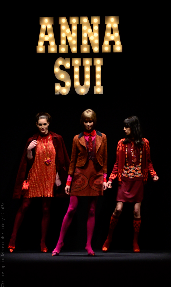 Anna Sui Fall Winter 2013