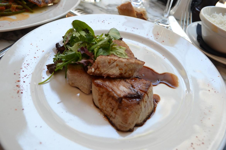 Le filet de thon