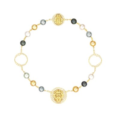 Collier Lion Talisman PM J60384