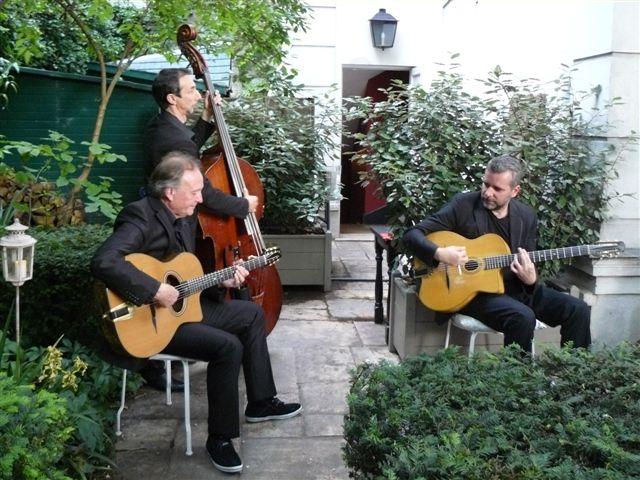 L'orchestre de Jazz manouche