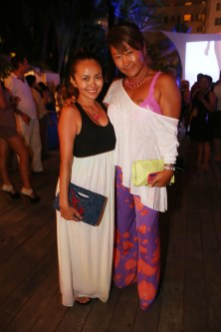 attends Mercedes-Benz Fashion Week Swim 2014 at the Raleigh on July 20, 2013 in Miami Beach, Florida.