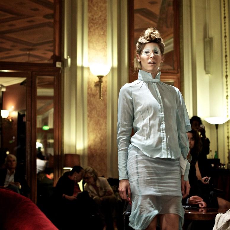 Fashion show De¦üfile¦ü Ken Okada Ho¦étel Lutetia 24_09-15