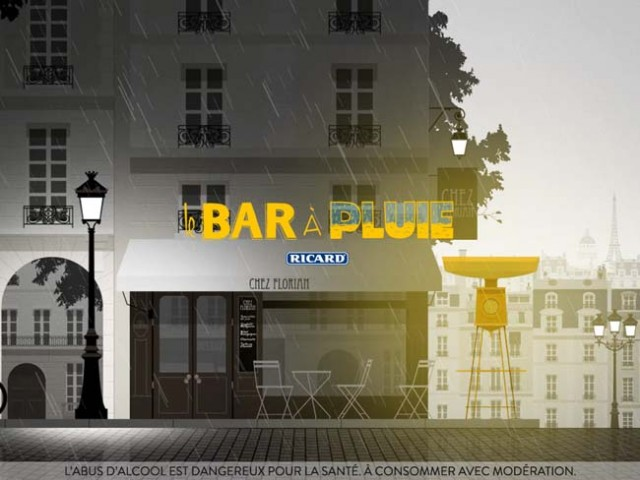 bar a pluie