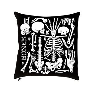 AK-LH - Crazy Bones Coussin - Cushion N1 Recto