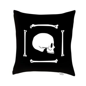 AK-LH - Crazy Bones Coussin - Cushion N1 Verso