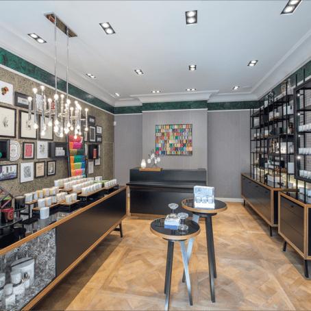 Cour des Senteurs diptyque boutique intérieur1