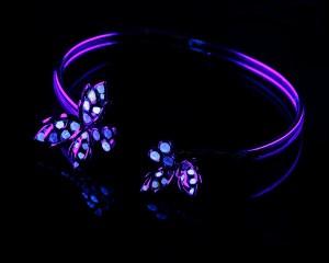 bracelet 3 lumiere noire