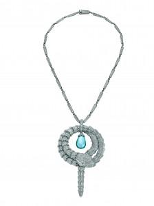 Serpenti necklace with e#32