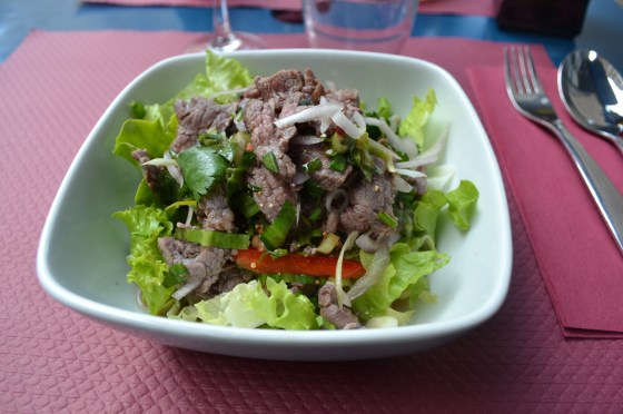 La salade de boeuf
