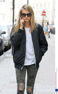 Cara Delevingne out and about, London, Britain - 02 Jul 2014
