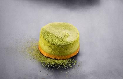Carte - Cheesecake Thé vert