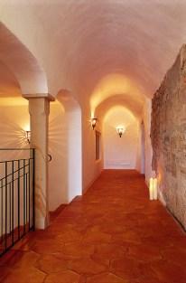 corridor of the spa-area