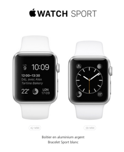 L'Apple Watch Sport - Version Sportive