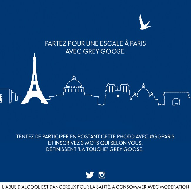 GREY GOOSE ESCALE PARIS